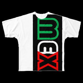 """""""SuperGuapo""""MEX オフィシャルショップの""""SuperGuapo""""MEX Full graphic T-shirts"""