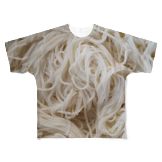 SZUKIの素麺Tシャツ Full graphic T-shirts