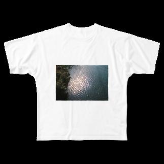 左耳の怪獣のいるところ Full graphic T-shirts