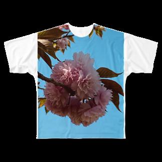 昭和~平成~令和系のりさぴん@のサクラサク Full graphic T-shirts