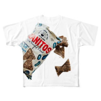 RDesignのsnack! Full graphic T-shirts