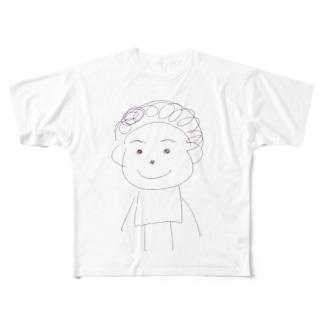 だいぶつくん Full graphic T-shirts