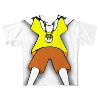 ユウキ「抱き枕にして良いですよ!」 Full graphic T-shirts