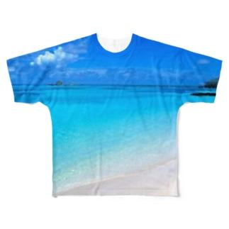 オーシャンビュー Full graphic T-shirts