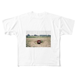 ニコタマの主 Full graphic T-shirts