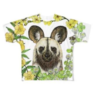 ハマのリカオン(color) Full graphic T-shirts