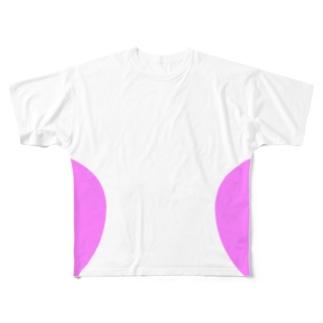 ナイスバディ―T ピンク Full graphic T-shirts