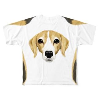 はなこさん Full graphic T-shirts