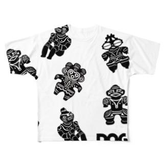 土偶セプテット Full graphic T-shirts