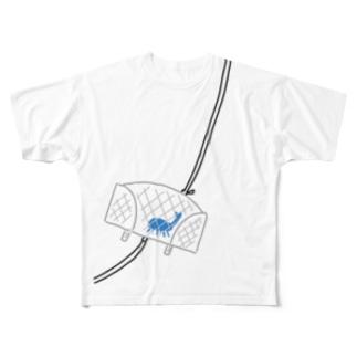 しろう君の夏休み No.2 Full graphic T-shirts
