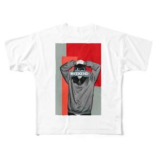 待ち焦がれて Full graphic T-shirts