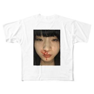 ミキチャン Full graphic T-shirts