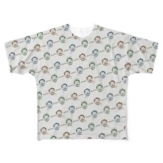オツハタ(いっぱいのオツハタ) Full graphic T-shirts