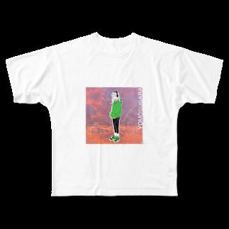 フーカ・コバヤシのTokyo City Girls vol.3 Full graphic T-shirts