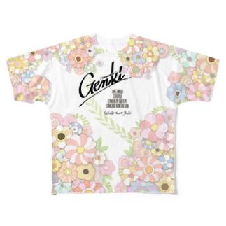 概ね元気 Full graphic T-shirts