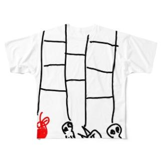 あみだとり Full graphic T-shirts