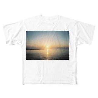 あの日の夢をなぞる Full graphic T-shirts