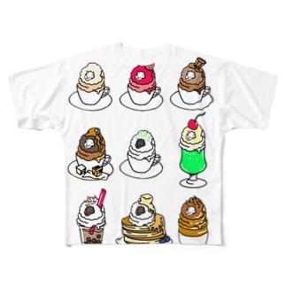 ふぁんしーしーぷ Full graphic T-shirts