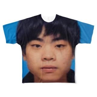 うまちゃん Full graphic T-shirts