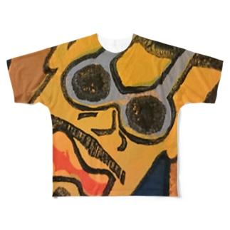 全開親父 Full graphic T-shirts