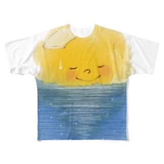 良い海だなぁ  Full graphic T-shirts