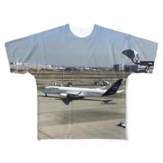 ルフトハンザT(息子作) Full graphic T-shirts
