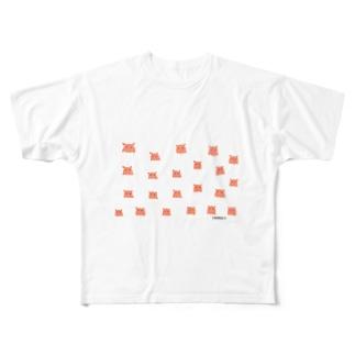 メンダコドット Full graphic T-shirts