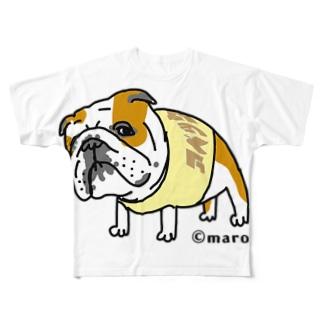 maroco's roomの銀次郎 Full graphic T-shirts