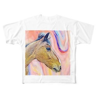 (公財)ハーモニィセンター チャリティグッズ ロジャー Full graphic T-shirts