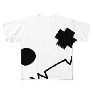 人生は軽い厨二病くらいがちょうどいい「ハッピーホーンテッド編」 Full graphic T-shirts