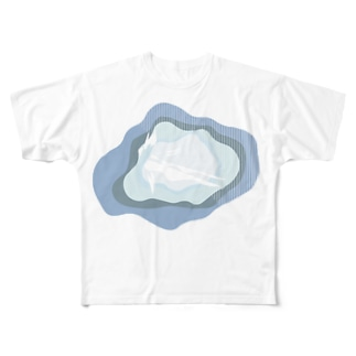 Water Full graphic T-shirts