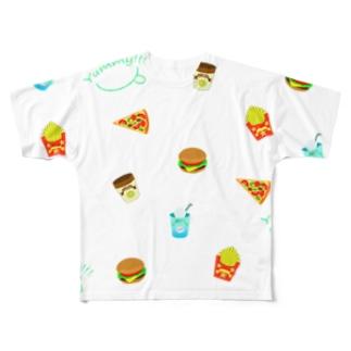 YUMMY!!! Full graphic T-shirts