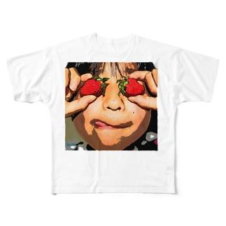 イチゴちゃんTシャツ Full graphic T-shirts