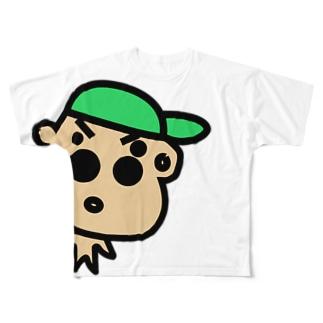 よっそーくん Full graphic T-shirts