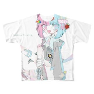にこにこ Full graphic T-shirts
