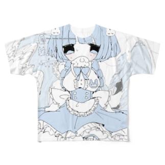 メメ Full graphic T-shirts