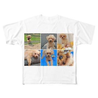 ノエルズライフ Full graphic T-shirts
