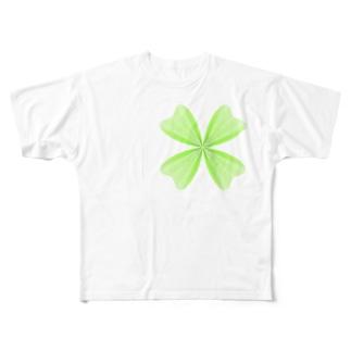 ベジェ・Tシャツ Full graphic T-shirts