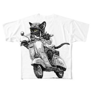 ネコべスパ2014 Full graphic T-shirts