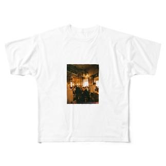 カフェ Full graphic T-shirts