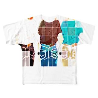 いろどり30 Full graphic T-shirts
