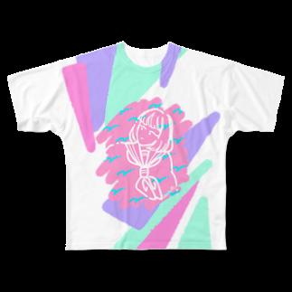 アリーの隣のあの娘 Full graphic T-shirts