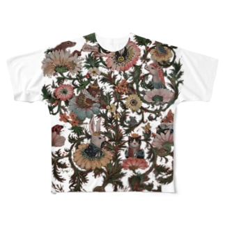 floral alchemy Full graphic T-shirts