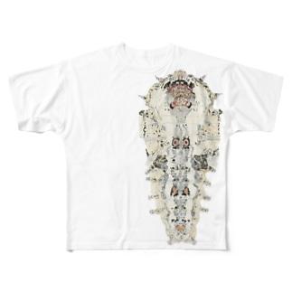 kuwako Full graphic T-shirts