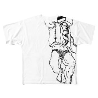 なんだろう? Full graphic T-shirts