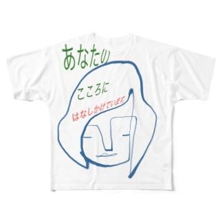 ココロちゃん Full graphic T-shirts