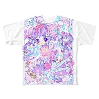 ちゃいな Full graphic T-shirts