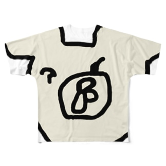 大胆なくま Full graphic T-shirts