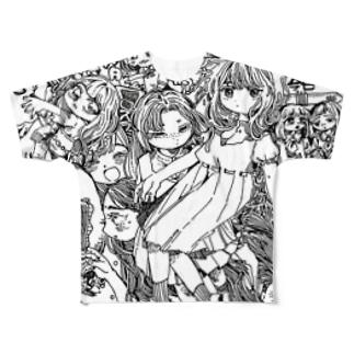 えびせん🍤の絶対矛盾的自己同一 Full graphic T-shirts
