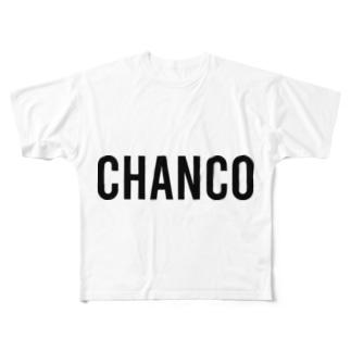 ステッカー1 Full Graphic T-Shirt